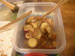 りんごCOBOとサツマイモの煮物.JPG